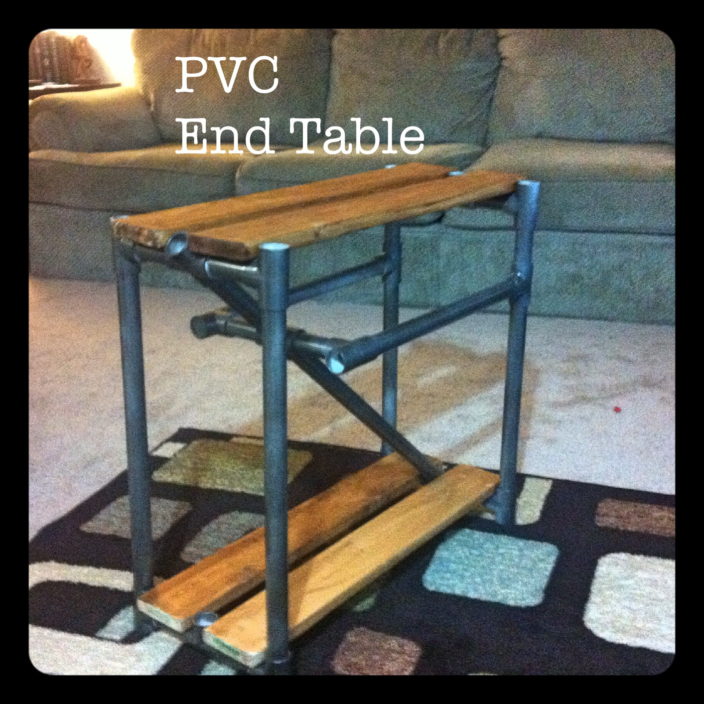 PVC End Table