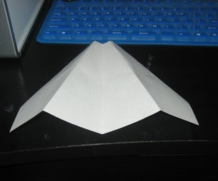 Very Slow One Minute Paper Airplane