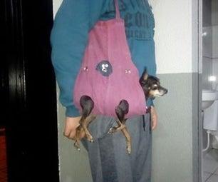 (Reciclável!!) Roupa-bolsa Para Pet
