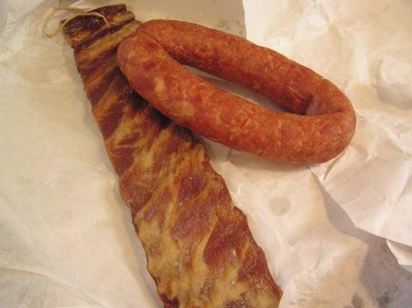 Slovak Smoked Sausage and Sauerkraut Soup (kapusta Polievka)