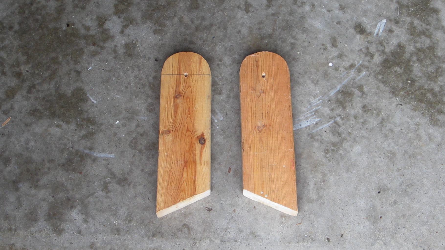 Cut Out the Feet for the Board