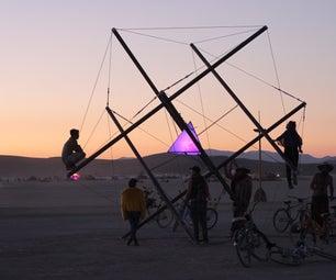 Cellular Tensegrity at Burning Man