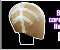 "How to Make a ""CARTON BASE HELMET"