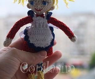 Sandybell - Jonquille - Amigurumi Doll-
