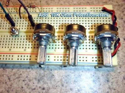 Add Potentiometers