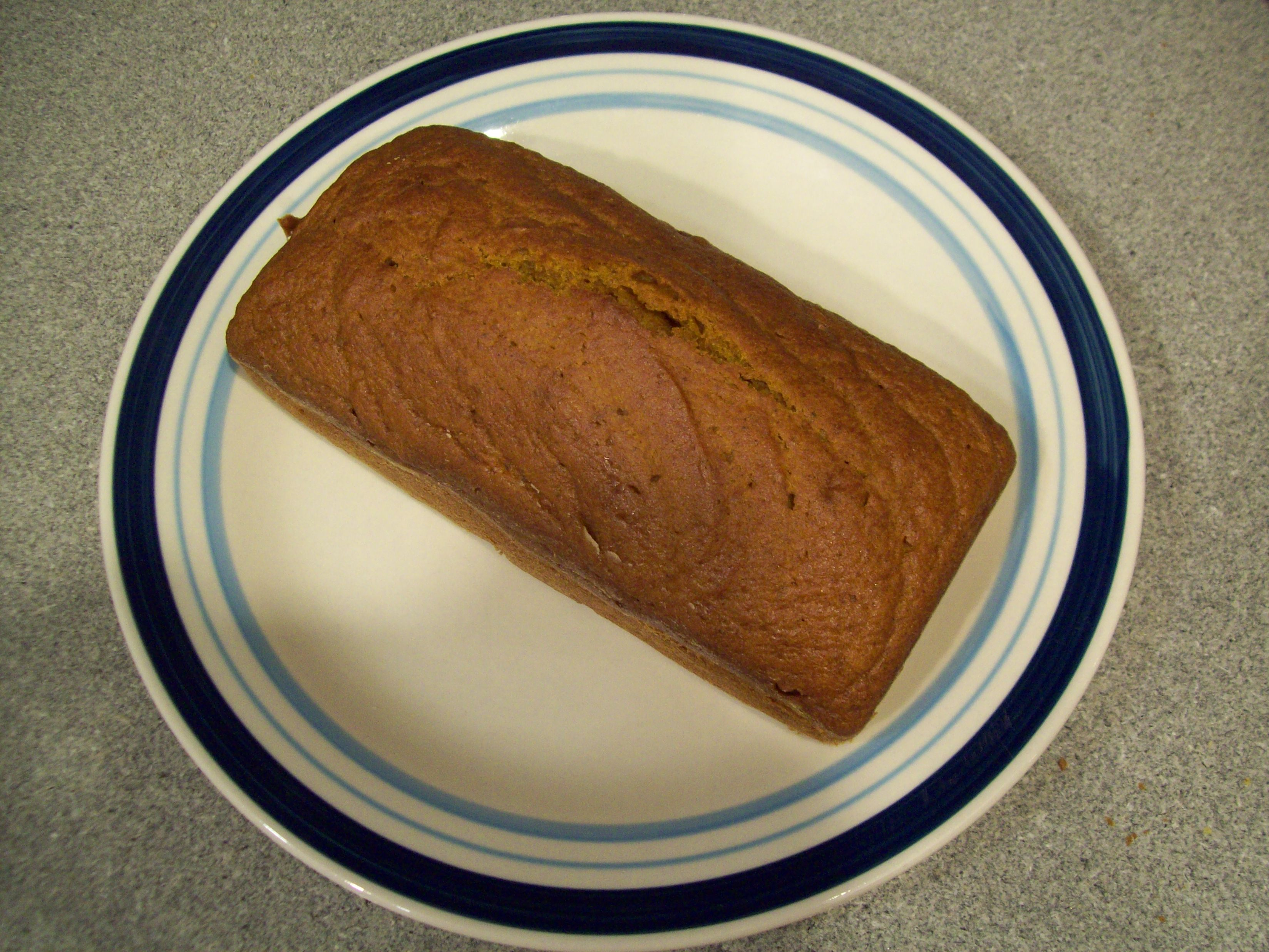 Nana's Easy Pumpkin Bread