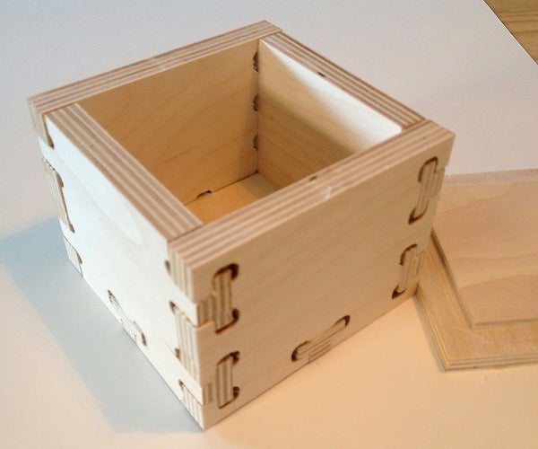 CNC Hammer Joint Box