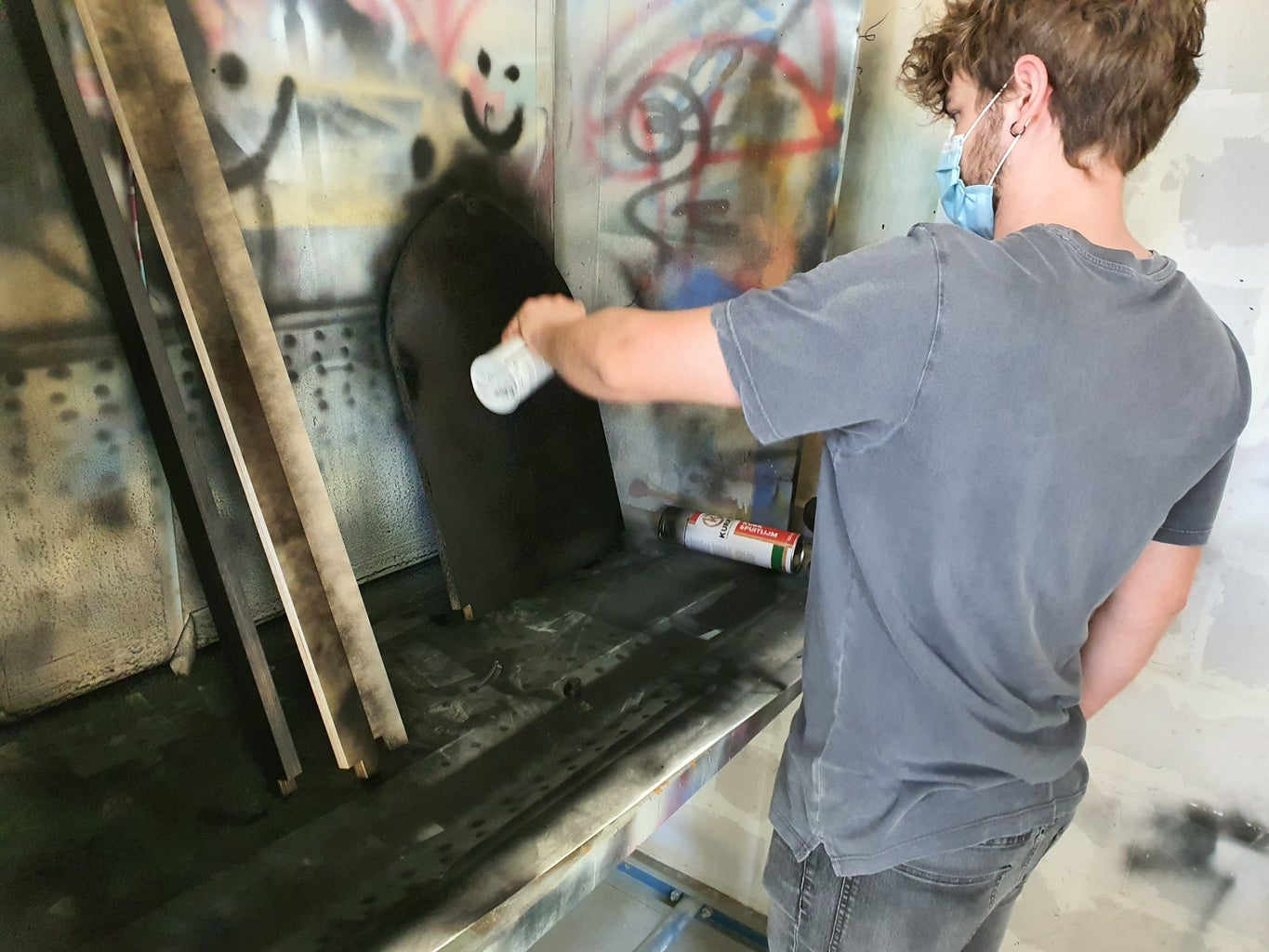 Step A3: Painting the Frame Pieces