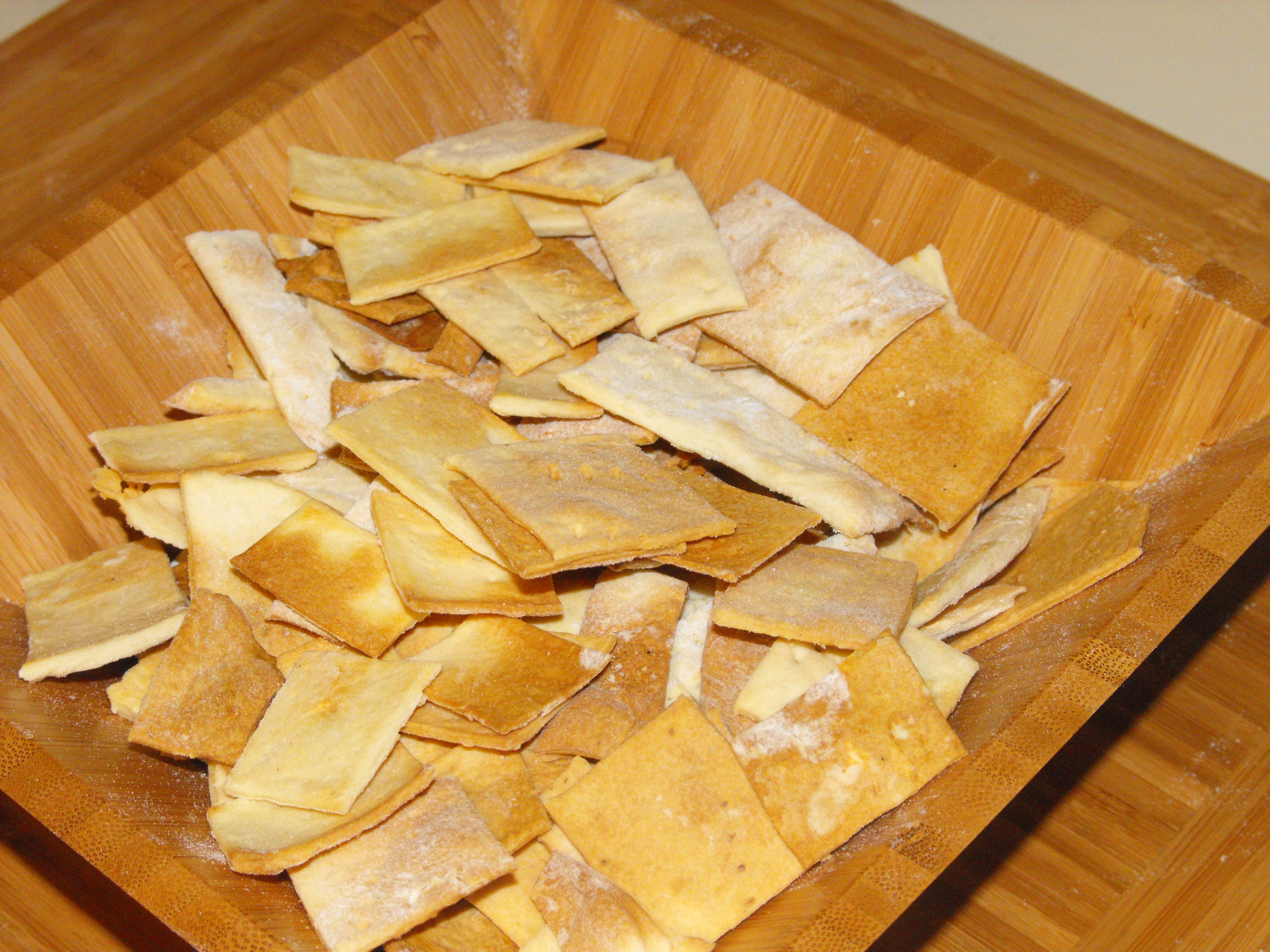 Homemade simple crackers