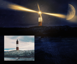 Turn Day to Night in Photoshop