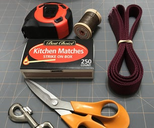Hand-sewn Nylon Dog Leash