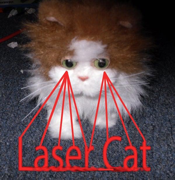 Robotic Laser Cats!