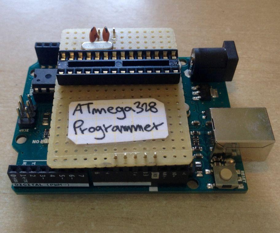 Simple & Cheap Arduino Uno ATmega328 Programmer