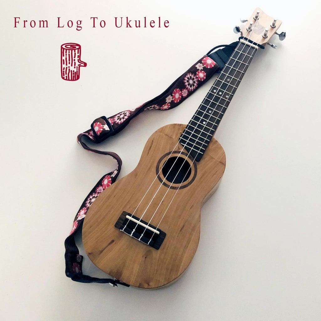 Soprano Ukulele (From a Log!)