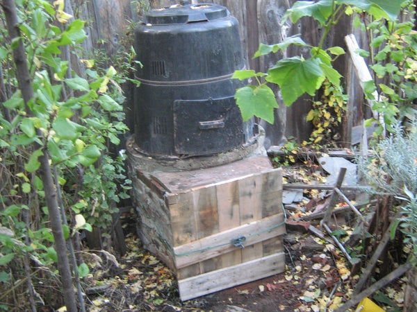 2 Storey Compost Bin!
