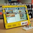 Samytronix Pi: DIY Raspberry Pi Desktop Computer (with Accessible GPIO)