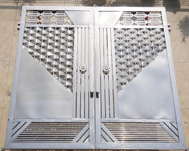 Stainless Steel Gate for Workshop