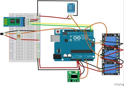 System Automation Using Arduino