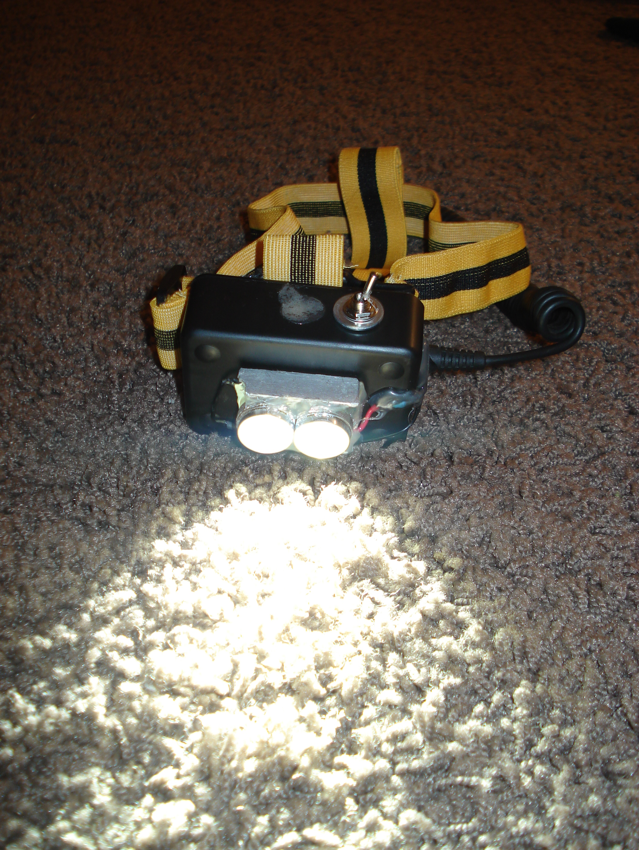 Rechargable LED Headlamp
