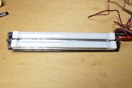 Adding the Strip LED's