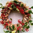 Wine Cork Wreath – Almost Zero Cost