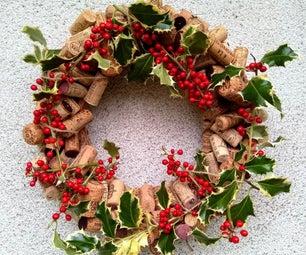 Wine Cork Wreath – Almost Zero Cost