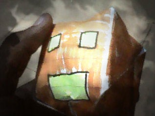 Scary Paper PUMPKIN