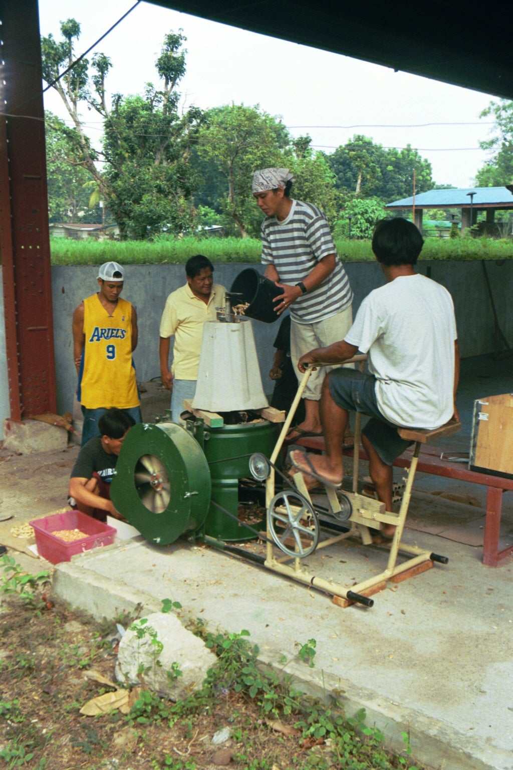 Pedal Powered Agricultural Center (Coming Soon to an Instructable Near You)
