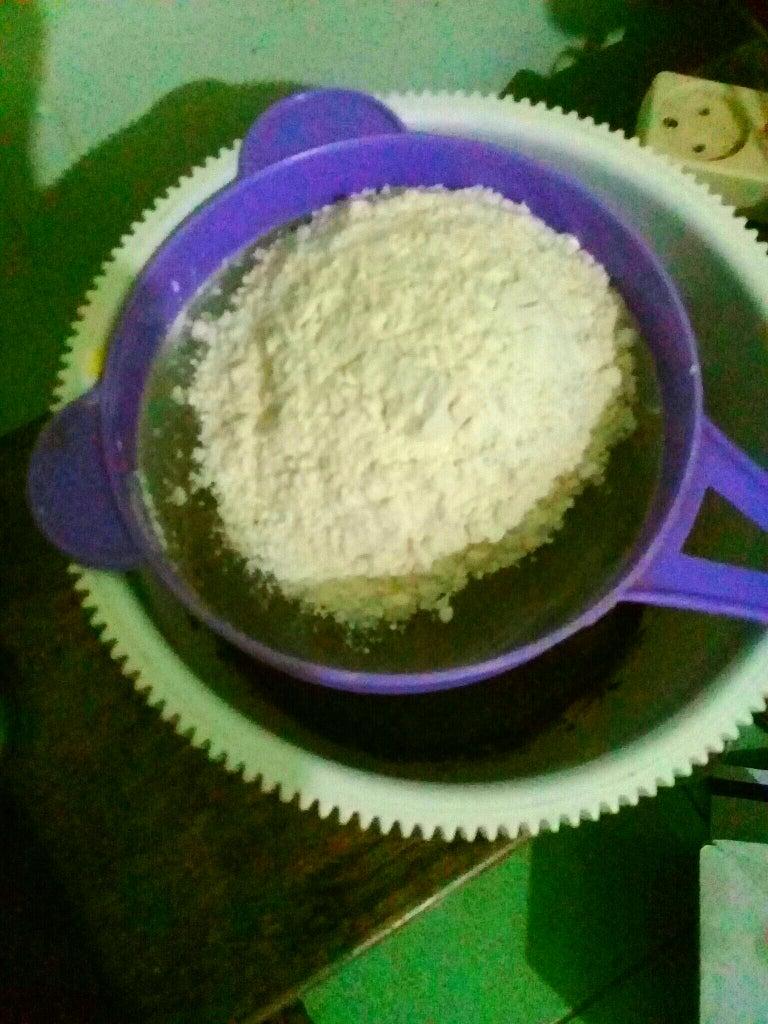 Make the Pie Filling #1: Make Chocholate Thin Mixture