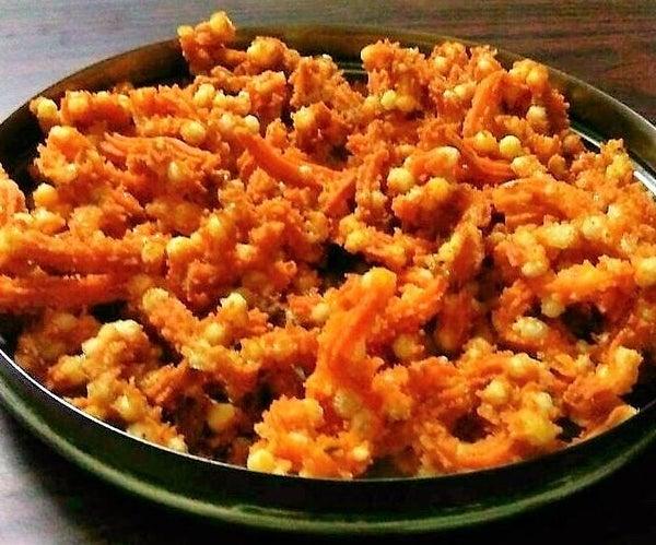 Sago Murukku (Crispy Savoury Snacks)