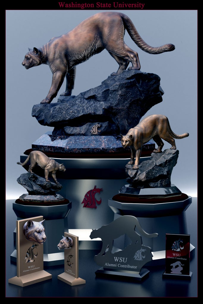 Creating a University Monument and Replica Bronzes