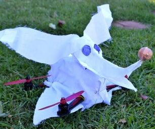 Flying Zero From Nightmare Before Christmas