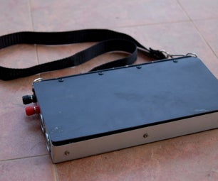 Tim's 5W Solar Charge,12VDC 4.5AH Portable Power Supply.