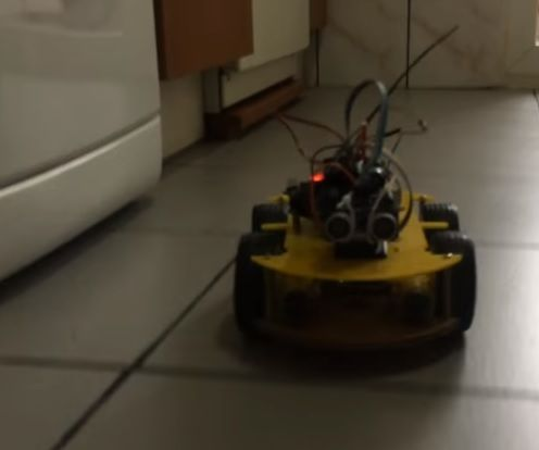 Autonomous Robot Able to Detect and Avoid Obstacles