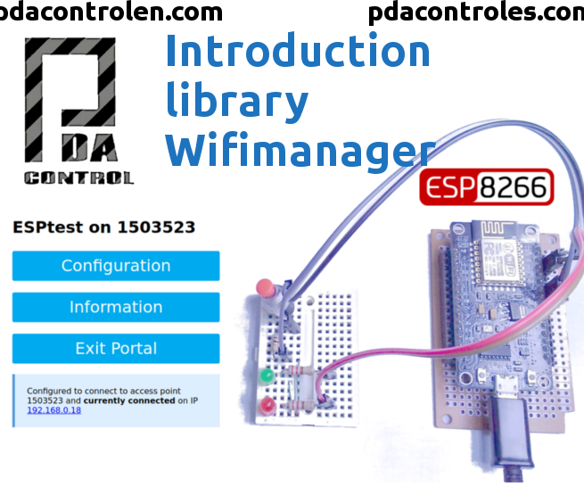 Introduction Library WifiManager for Esp8266
