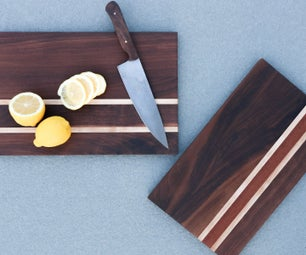 DIY Cutting Board (With 3 Tools!)