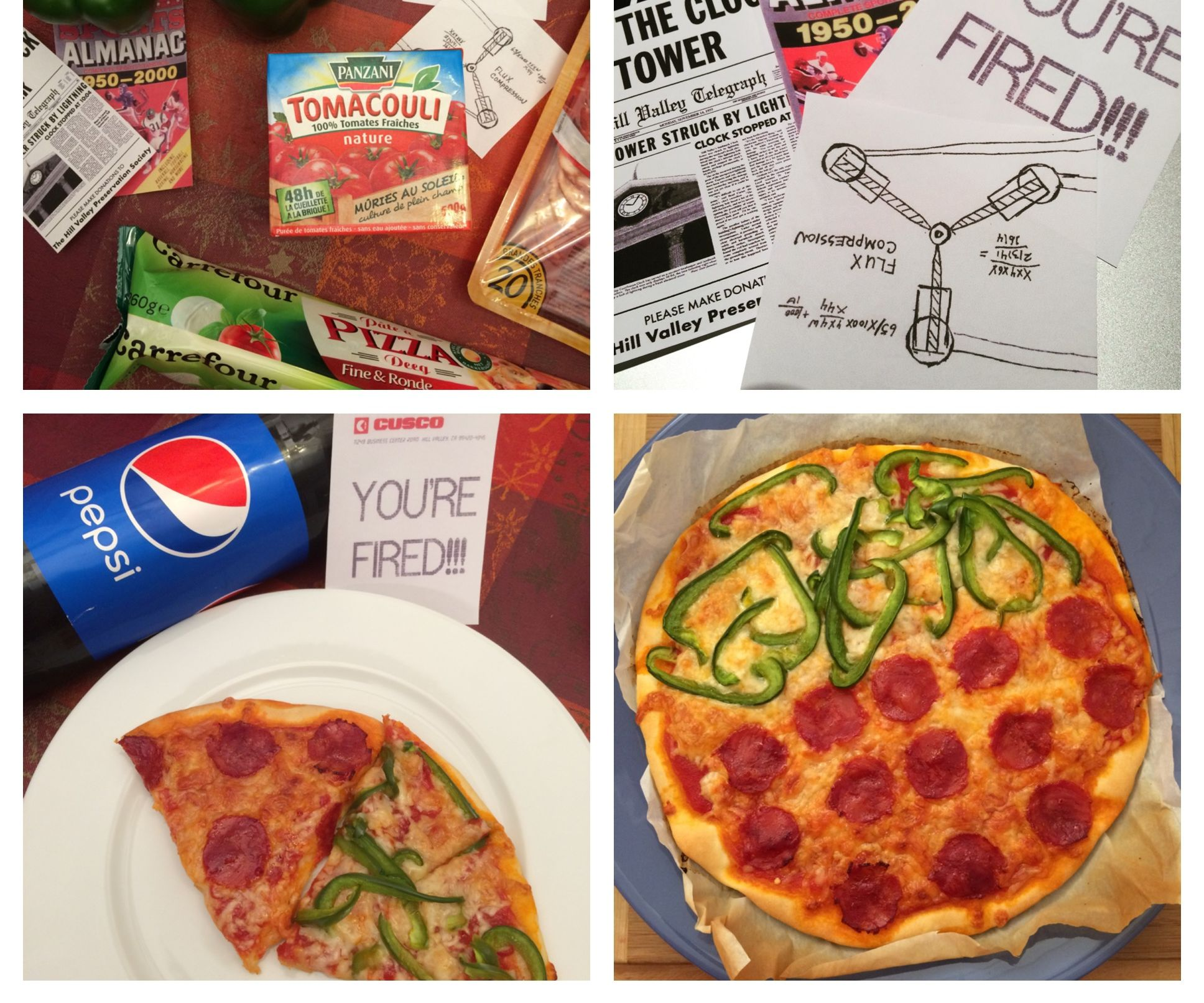 """Pizza Hut"" Dehydrated Pizza Recipe   Back to the Future II"