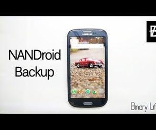 How to Make Nandroid Backup