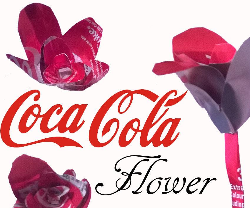 Coca Cola Flower