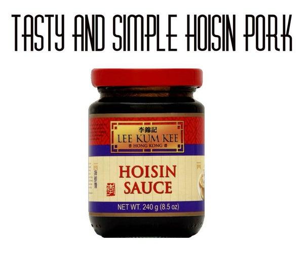 Tasty and Simple Hoisin Pork
