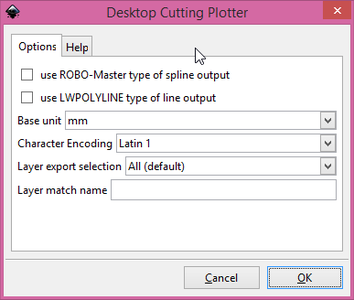 Exporting the DXF