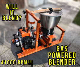 厄运的气体供电搅拌器