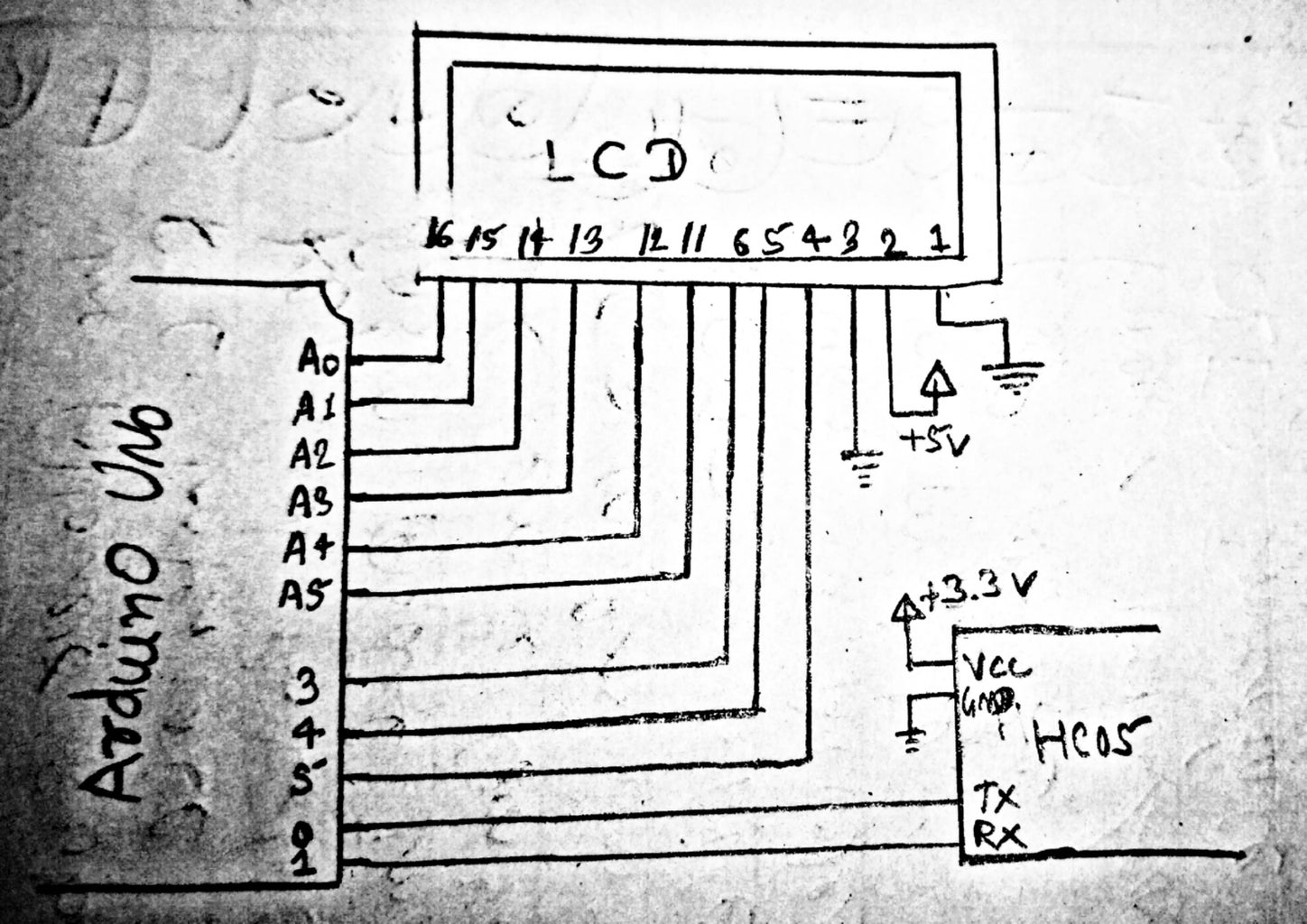 Over All Circuit Diagram