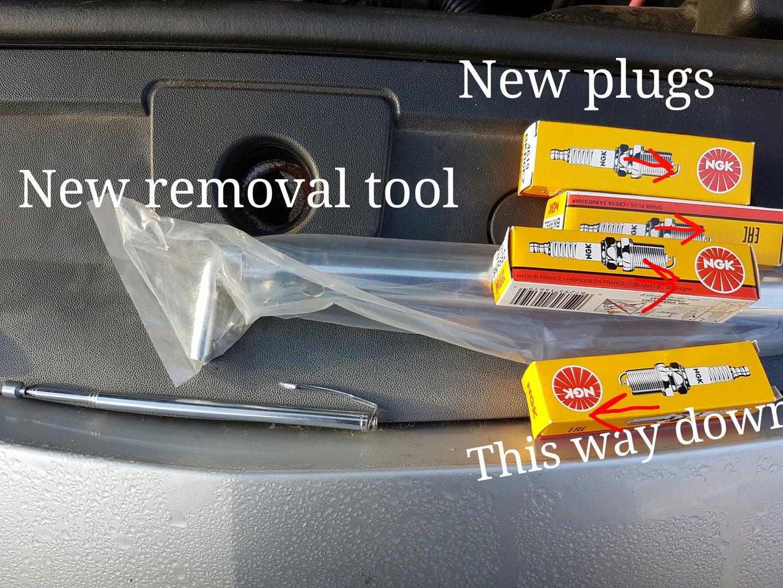 Remove Spark Plugs
