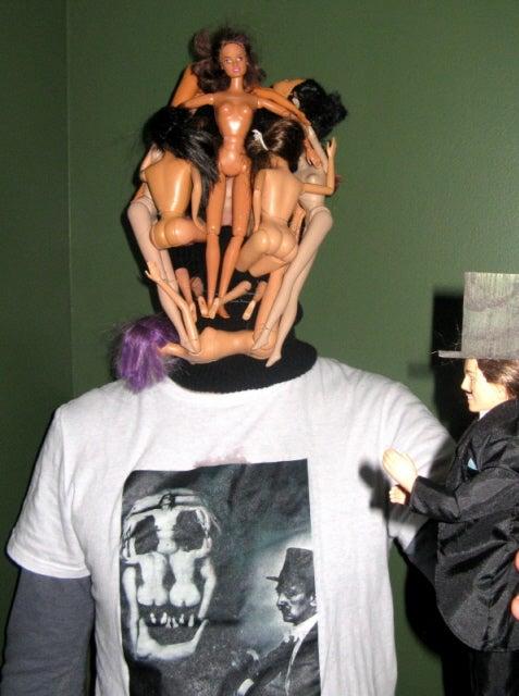 Doll Face / Dolli Skull (after Salvador Dali)