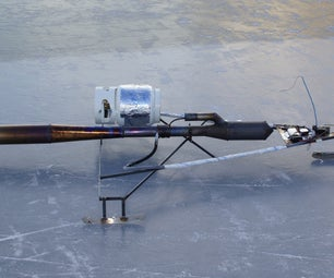 Pulse Jet Powered RC Ice Racer!