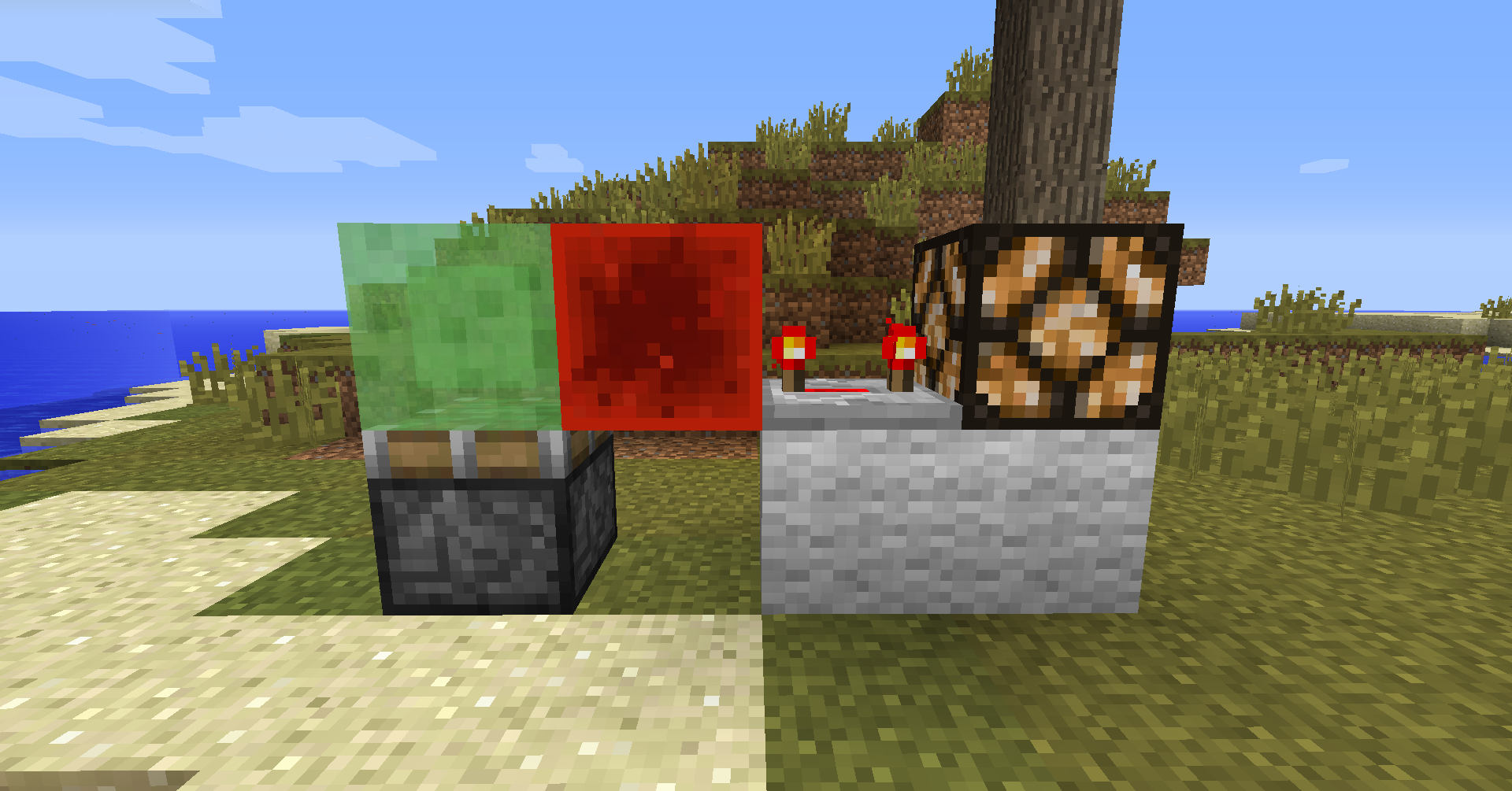 Minecraft: New Redstone Clock