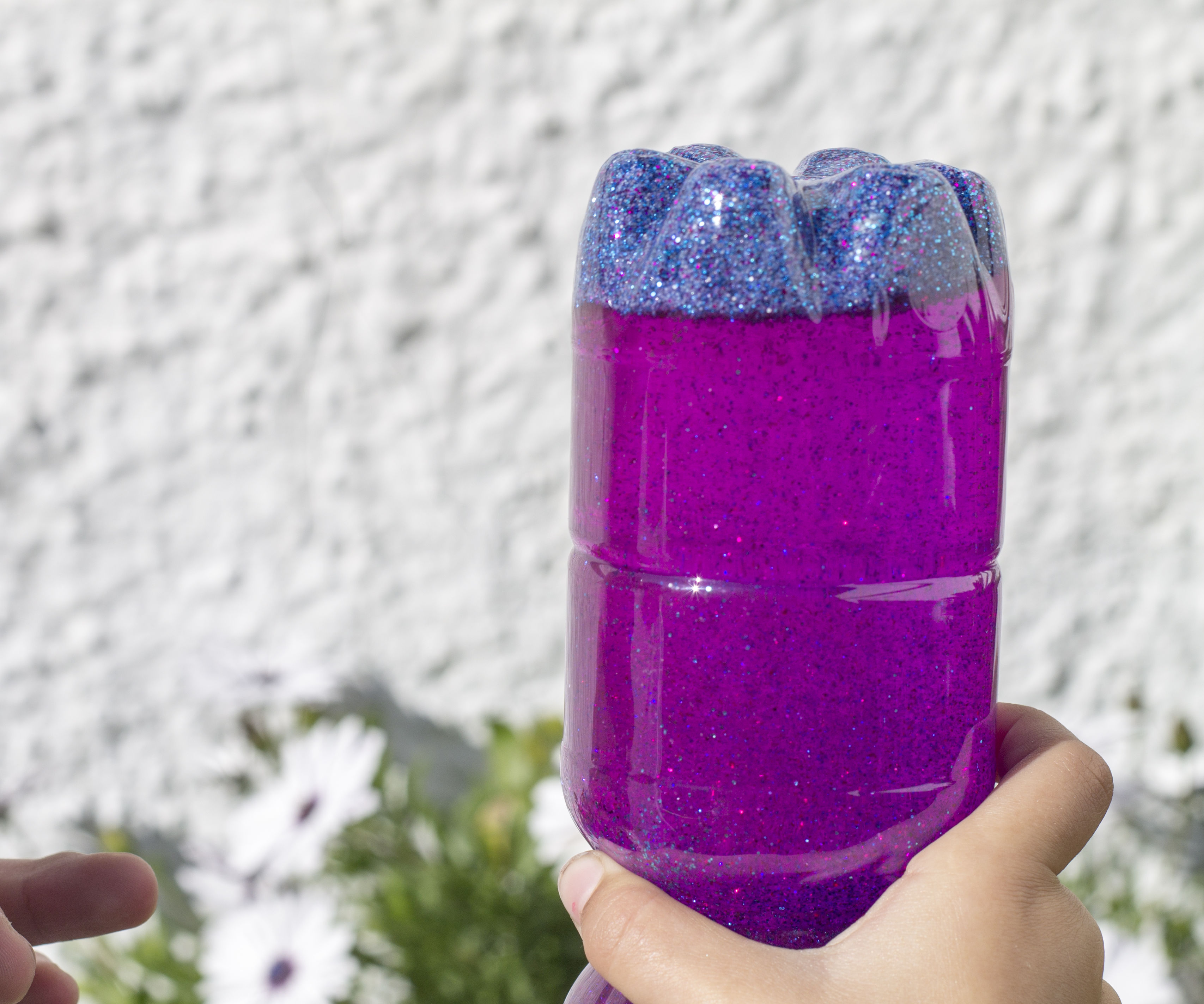How to Make Calming Glitter Bottle