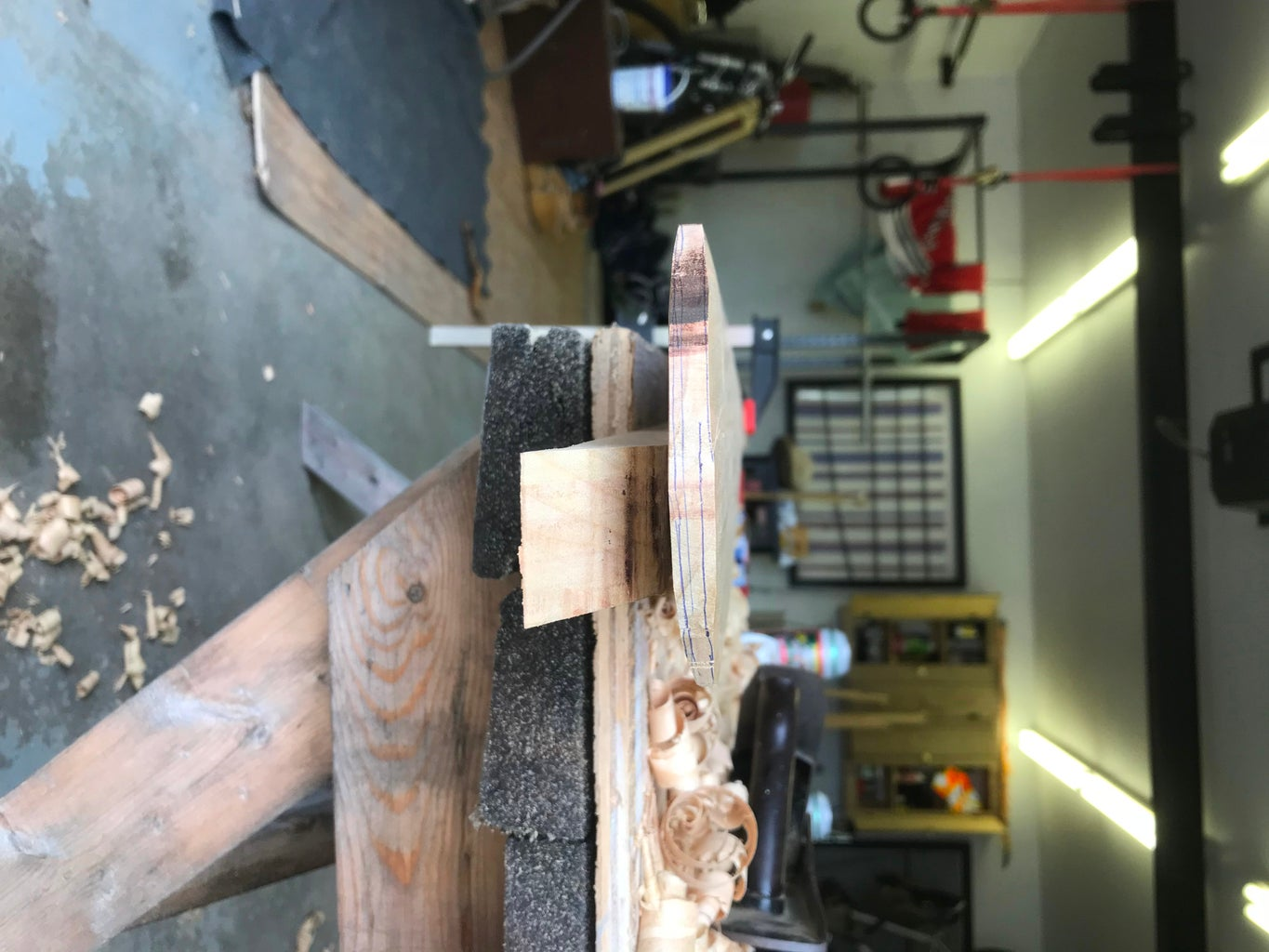 Shaping - Hand Planing