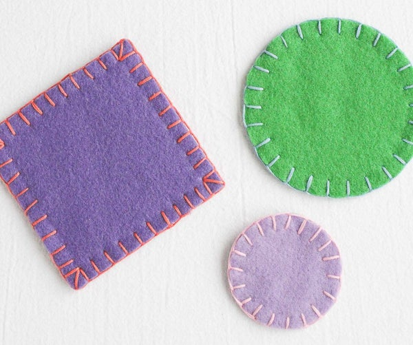 Sewing the Blanket Stitch